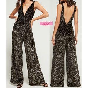 Show Me Your Mumu Leona Jumpsuit Cheetah Leopard